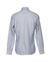 Boglioli Blue Shirt for men