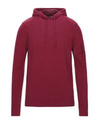 C P Company Red Jumper for men