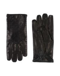 Gants Emporio Armani pour homme en coloris Black