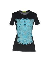 T-shirt di Versace Jeans in Black