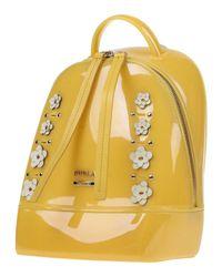 Furla - Yellow Backpacks & Fanny Packs - Lyst