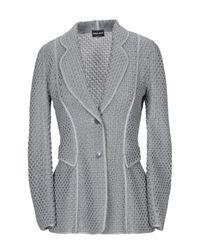 Veste Giorgio Armani en coloris Gray