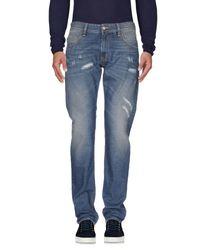Love Moschino Blue Denim Trousers for men