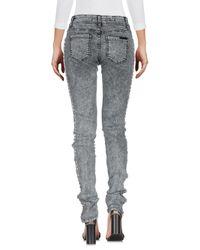 Pantalon en jean Philipp Plein en coloris Gray