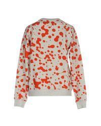 Marc By Marc Jacobs Red Sweatshirt