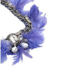 Collier Liu Jo en coloris Purple