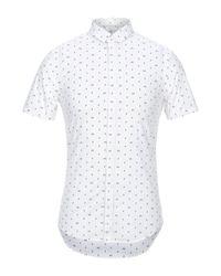 Camicia di Armani Exchange in White da Uomo