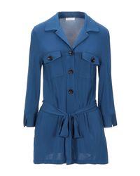 Chemise Siyu en coloris Blue