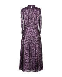 Vestito longuette di Just Cavalli in Purple