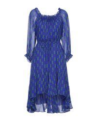 Vestito longuette di Diane von Furstenberg in Blue