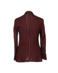 Mp Massimo Piombo Red Blazer for men