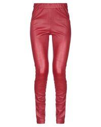 Leggings Helmut Lang en coloris Red