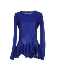 Pullover Alexander McQueen de color Blue