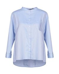 ..,merci Blue Shirt