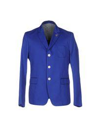 Mauro Grifoni Blue Blazer for men
