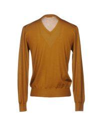 Cruciani Brown Sweater for men