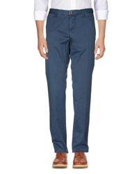 Pantalon Incotex pour homme en coloris Blue