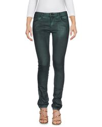 75 Faubourg Green Denim Pants