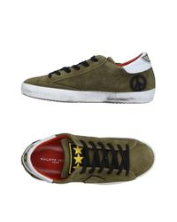 Philippe Model Green Low-tops & Sneakers for men