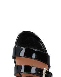 Laurence Dacade Black Sandals