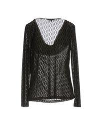 Patrizia Pepe Black Sweater