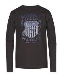 Camiseta Beverly Hills Polo Club de hombre de color Brown