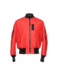 Paura - Red Jacket for Men - Lyst