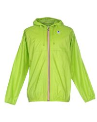 K-Way Green Jacket for men
