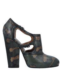 Bottega Veneta Green Ankle Boot