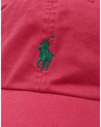 Chapeau Polo Ralph Lauren pour homme en coloris Pink