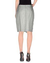 Fabiana Filippi Green Knee Length Skirt