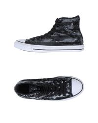 Converse - Black High-tops & Sneakers - Lyst