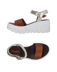 Piampiani Brown Sandals