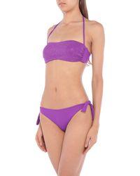 Biquini Fisico de color Purple