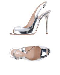 Sandales Sebastian en coloris Metallic