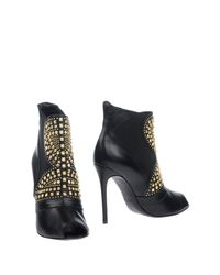 Icône Black Ankle Boots