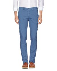 Massimo Rebecchi Blue Casual Pants for men