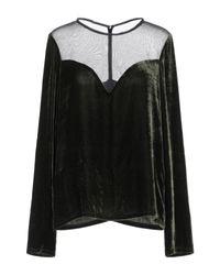 Lanvin Black Bluse
