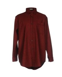 Dior Homme - Red Shirt for Men - Lyst