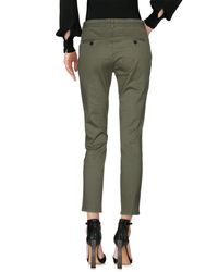 Department 5 Green Casual Trouser