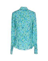 Michael Kors Blue Shirt