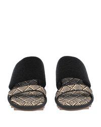 Dries Van Noten Black Sandale