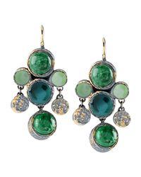 Bottega Veneta - Green Earrings - Lyst
