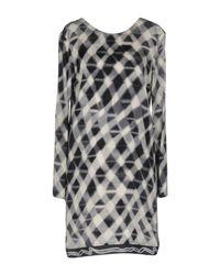 KENZO Gray Short Dresses