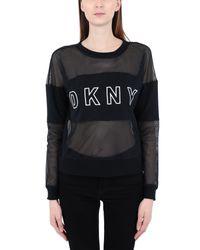 T-shirt DKNY en coloris Black