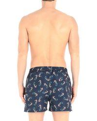 Paul Smith Blue Swim Trunks for men