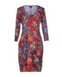 Just Cavalli Multicolor Knee-length Dress