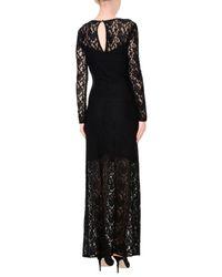 Silvian Heach Black Langes Kleid