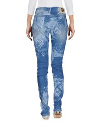 Versace Jeans Blue Denim Pants