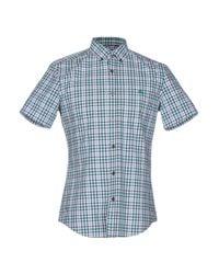 Burberry Green Shirt for men